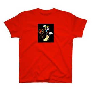 オカッパカくん8周年記念!? オカッパ頭のアルパカ T-shirts