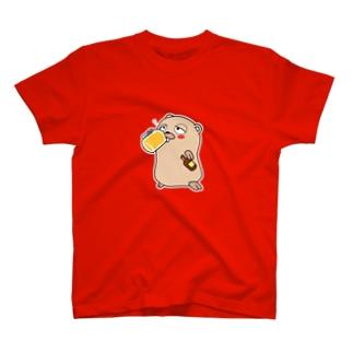 Daisuke MakiのDrunken Gopher T-shirts