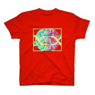 今と未来を選び取る パステル パラレルワールド T-shirts