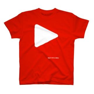 gorozomachine_storeの写真撮るなら俺がセンター T-Shirt