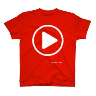 gorozomachine_storeの写真撮るなら俺がセンター2 T-Shirt