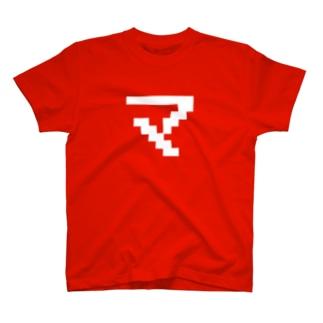 """ファミコン風マシマシの""""マ""""アイテム T-shirts"""