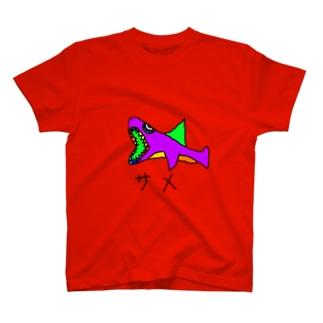 サメの絵 T-shirts