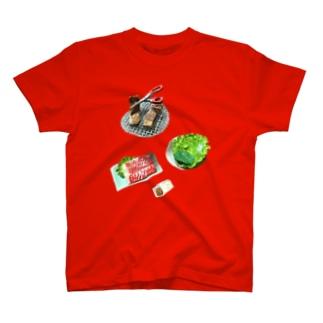 焼肉が食べたい。 T-shirts
