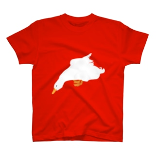パワーポイントで描いたあひる T-shirts