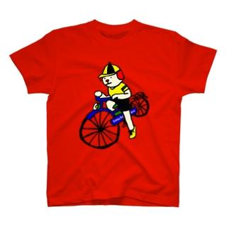 ウクちゃんと自転車 T-shirts