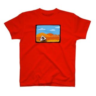 まぽつーくんの紅葉狩り T-shirts