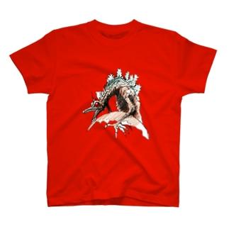ヤノベケンジ《ザ・スター・アンガー》(星に乗るドラゴン) T-shirts