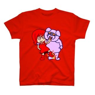 ザ・ワル子さん足踏みブーダラビー T-shirts