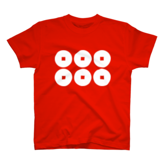 kadowakikikakuの真田の六文銭(白抜) T-shirts