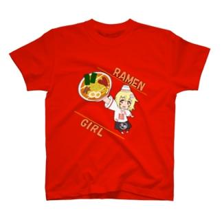 真鶴 ラーメン メンムス T-shirts