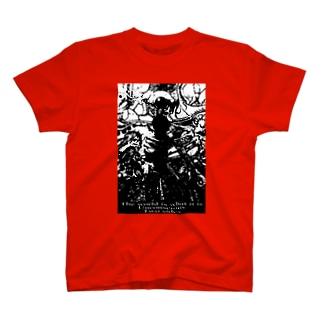 グランド・オベリスク(モノクロ) T-shirts