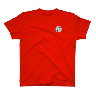 【公式】ゆるスポーツオンラインストアのハンぎょボールグッズ カラーシャツ T-shirts
