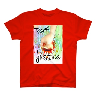 power is justice T-shirts