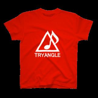 ぷらんく-triangle-の2017白 T-shirts