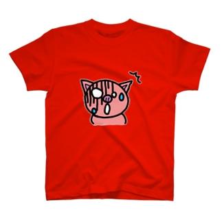 だべやブ~(びっくり) T-shirts