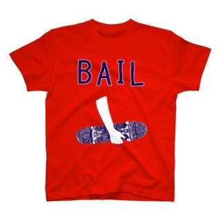 スケボーデザイン「BAIL」 T-Shirt