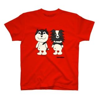 ハスキー&オゥシー T-shirts