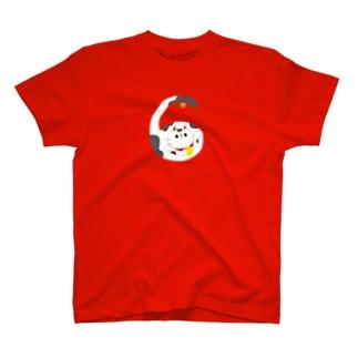えんぎものすうじ 6 まねきねこ T-shirts