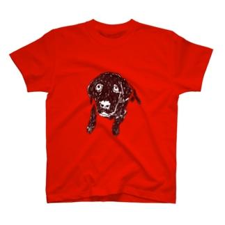 ドッグデザイン「ラブラドール」 T-shirts