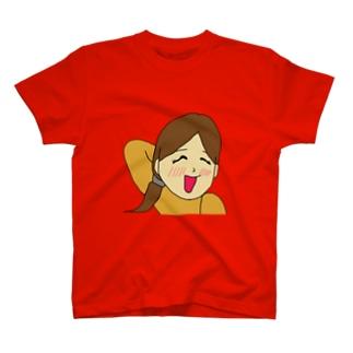 ピカソの日記【照れTシャツ】 T-shirts