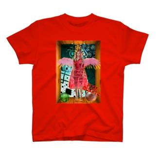 パワーストーン『ファイアークォーツ』 T-shirts