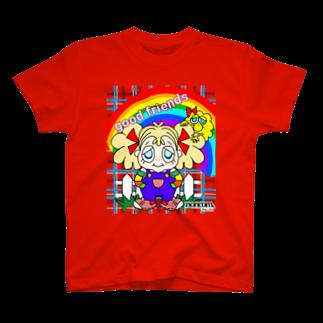noncom.moiのモジャリティーヌとモジャリティーヌ T-shirts