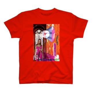 パワーストーン『ピンクコバルトカルサイト』 T-shirts