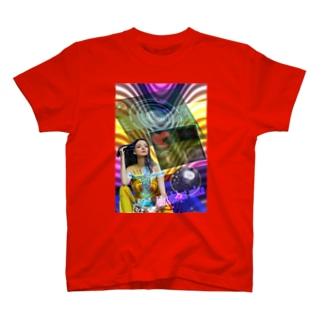 パワーストーン『ブラッドショットアイオライト』 T-shirts