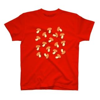 きのこキノコきのこ T-shirts