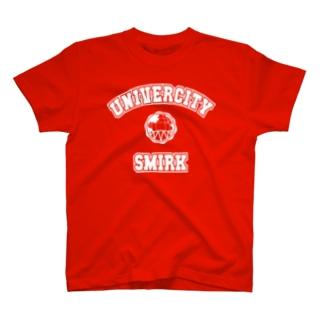 SMIRK UNIVERCITY T-shirts