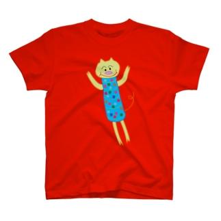 ほそっちょシリーズ(ブタ) T-shirts