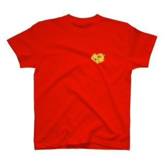 チキンな弟 T-shirts