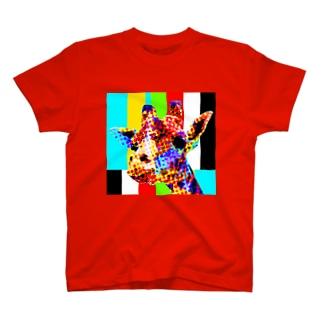 目に悪い加工 T-shirts