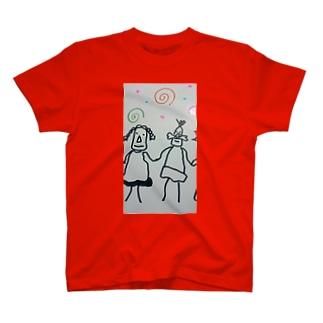 ぐるぐる T-shirts