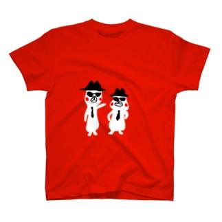 シロさんブラザーズ T-shirts