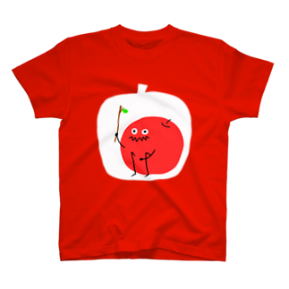 ZASHIKIのりんご ver.枝 T-shirts