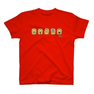 こぴっと5兄弟Tシャツ T-shirts