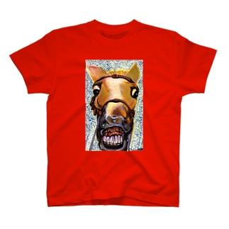 馬面 T-shirts