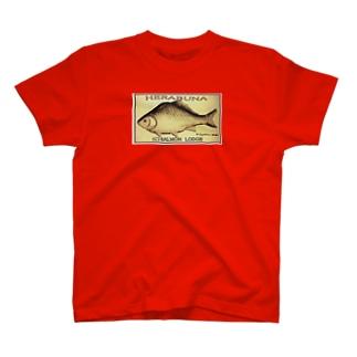 へら鮒(レトロ;Gyotaku ohba) T-shirts