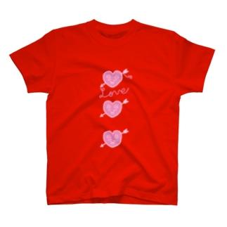 ハートなキューピット T-shirts