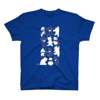 くまぱんだ Tシャツ