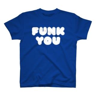 FUNK YOU T WHT Tシャツ