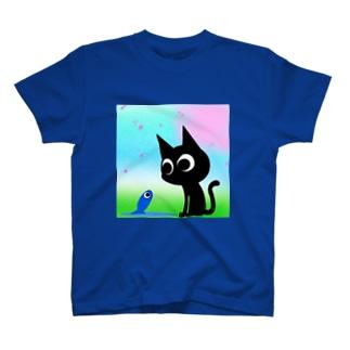魚の夢CH〜サクラフワァァァア〜 Tシャツ
