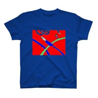 Cable jungle! Tシャツ
