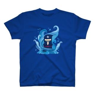 Gyazo Ninja 水遁の術 Tシャツ