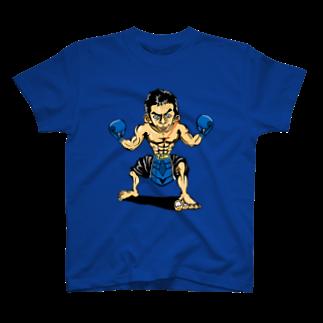 ASB boxingclub SHOPの ASBスタッフ「タムタム」アイテム Tシャツ