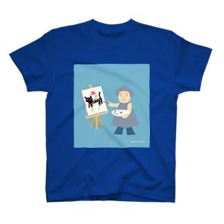 画家 Tシャツ