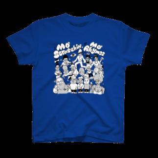 mangatronixのMo' Scratchin', Mo' Rhymes Tシャツ