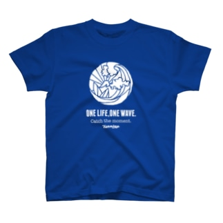 One Life, One wave.(ホワイト) Tシャツ
